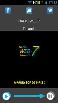 Radio Web 7 apk screenshot