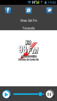 98 FM WEB poster