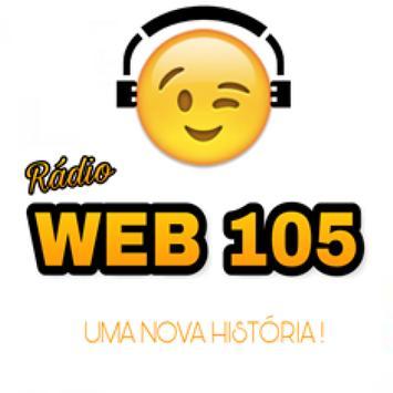 Radio Web 105 poster
