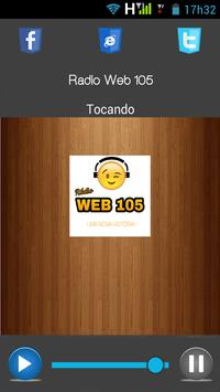 Radio Web 105 screenshot 1