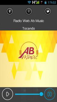 Rádio Web Ab Music apk screenshot