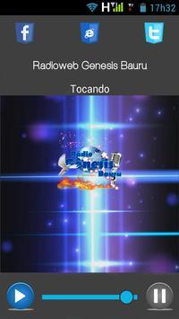 Radioweb Genesis Bauru apk screenshot