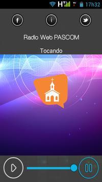 Rádio Web PASCOM Baturité CE screenshot 2