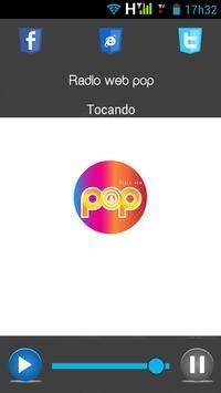 Rádio web pop screenshot 1