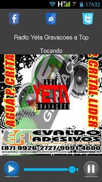 Rádio Yeta Gravações Beta poster