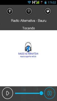 Rádio Alternativa - Bauru - SP apk screenshot