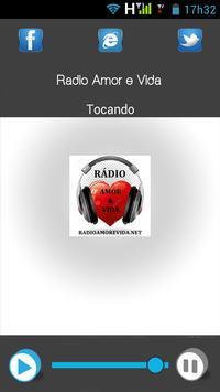 Rádio Amor e Vida Fm apk screenshot