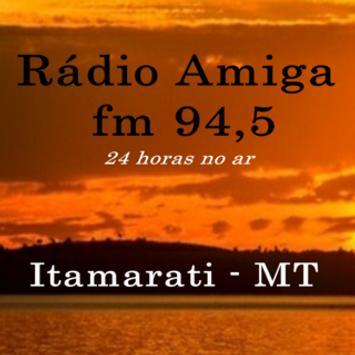 Rádio Amiga FM MT poster