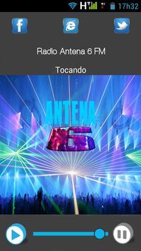 Radio Antena6 FM poster