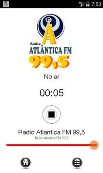 Rádio Atlântica FM 99,5 poster