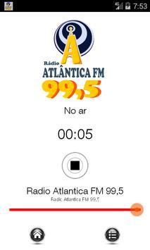 Rádio Atlântica FM 99,5 apk screenshot