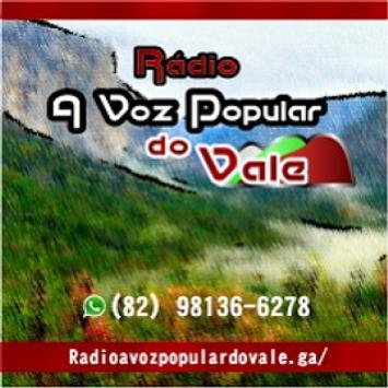 Rádio A Voz Popular Do Vale poster