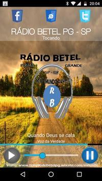 Rádio Betel PG apk screenshot