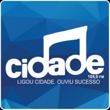 Rádio Cidade 105,9 FM poster