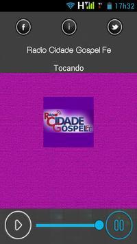 RadioCidadeGospelFe apk screenshot