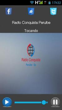 Rádio conquista peruibe apk screenshot