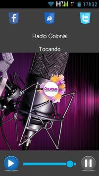 Radio Colonial screenshot 1