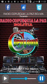 RADIO COPUSQUIA LA PAZ poster