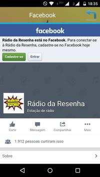 Rádio Resenha screenshot 1