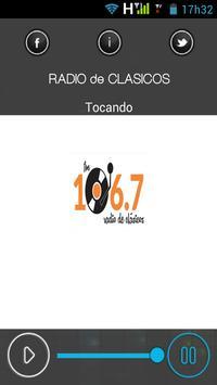 RADIO de CLASICOS poster
