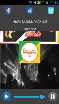 Rádio DOBLE VOX poster