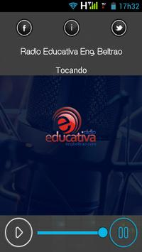 Radio Educativa Eng. Beltrão apk screenshot