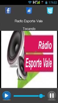 Radio Esporte Vale apk screenshot