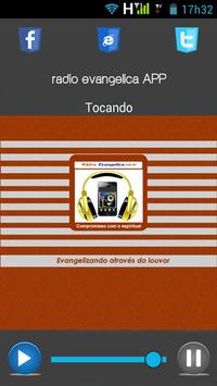 Rádio Evangélica APP poster