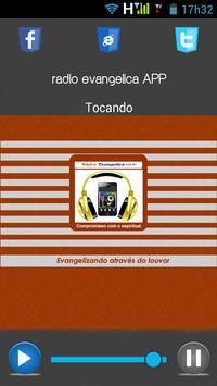 Rádio Evangélica APP apk screenshot
