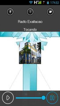 RÁDIO EXALTAÇÃO v2 apk screenshot