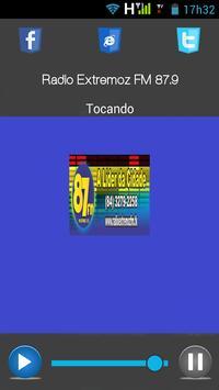 RADIO EXTREMOZ FM 87.9 apk screenshot
