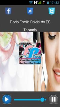 Rádio Família Policial do ES poster