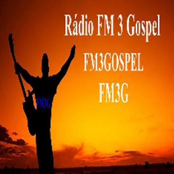 Rádio FM 3 Gospel poster