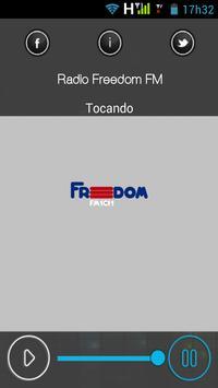 Freedom FM Brasília poster