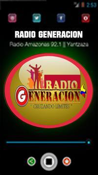 Radio Generacion screenshot 2