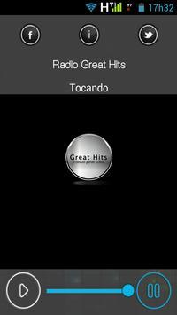 Rádio Great Hits apk screenshot