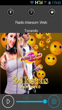 Web Rádio Intersom apk screenshot
