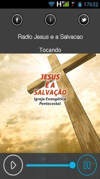 Igreja Jesus é a Salvação poster