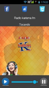 Radio karisma fm apk screenshot