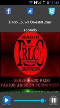 Rádio Louvor Celestial Brasil apk screenshot