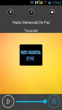 Rádio Manancial De Paz apk screenshot