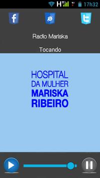 Rádio da Mulher Mariska apk screenshot