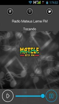 Rádio Mateus Leme FM screenshot 2