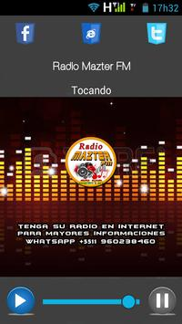 Radio Mazter fm poster