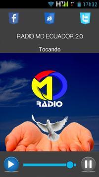 RADIO MD ECUADOR 2.0 poster