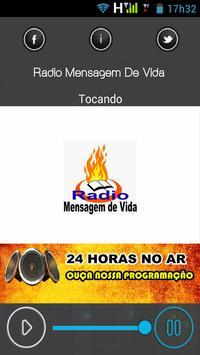 Radio Mensagem De Vida screenshot 1