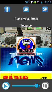 Radio Minas Brasil poster