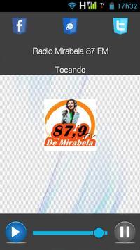 Rádio Mirabela 87 FM screenshot 1