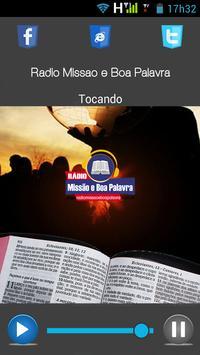 Rádio Missão e Boa Palavra screenshot 2