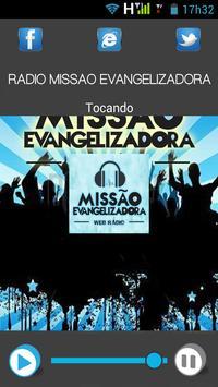 Rádio Missão  Evangelizadora apk screenshot
